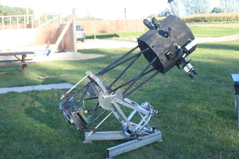 Dobsonian Reflector on an Equatorial Mount